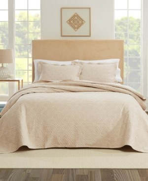 Nouvelle Home Bogart European Matalasse Coverlet Set Queen Bedding