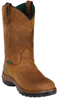 "John Deere Men's Boots WCT 12"" WP Safety Toe Wellington 4604"