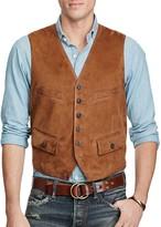 Polo Ralph Lauren Postboy Suede Leather Vest