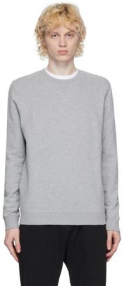 Sunspel Grey Loopback Sweatshirt