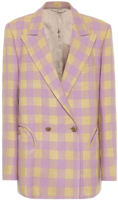 BLAZÉ MILANO Everynight checked blazer