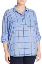 MICHAEL Michael Kors Chain Link Check Shirt