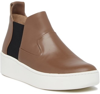 Via Spiga Eren High Top Wedge Sneaker