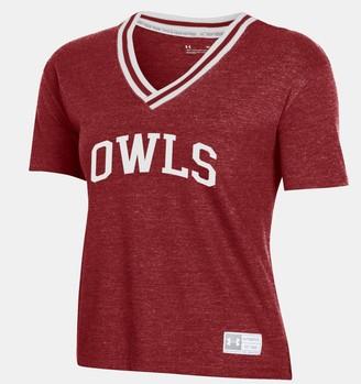 Under Armour Women's UA Gameday Collegiate V-Neck T-Shirt