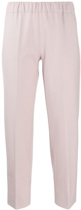 D-Exterior Tapered Cropped Trousers