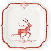 Juliska Country Estate Ruby Reindeer Games Dancer Party Plate