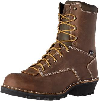 """Danner Men's Logger 8"""" Brown Work Boot 11.5 2E US"""