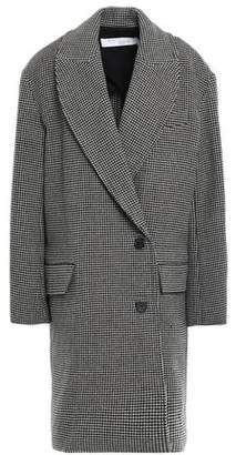 IRO Quip Houndstooth Wool-felt Coat