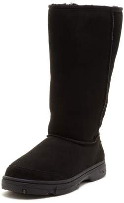 UGG Ultimate Tall Braid Genuine Sheepskin Boot