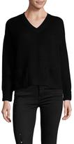 Joe's Jeans Vance Wool Ribbed V-Neck Sweater
