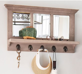 Pottery Barn Livingston Mango Wood Entryway Collection