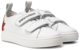 DSQUARED2 Touch Strap Sneakers