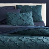 CB2 Prisma Blue-Green King Quilt