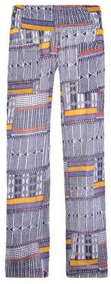 Lemlem Kente Smocked Beach Pants