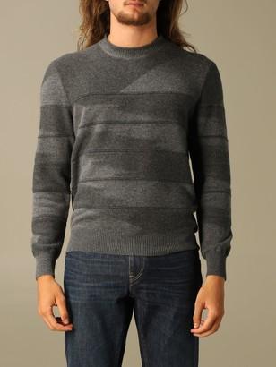 Ermenegildo Zegna Cashmere Sweater With Inlaid Pattern