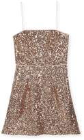 Milly Minis Laci Sequin Mini Dress, Size 8-16