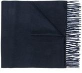 Canali fringed trim scarf