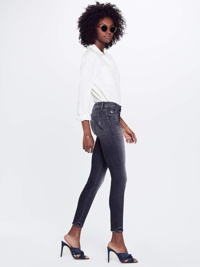 Mother High Waisted Looker Ankle - Leave The Light On
