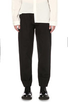 Isabel Benenato Relaxed-fit wide wool trousers