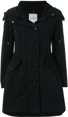 Moncler Flared Hooded Coat