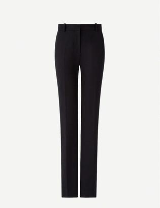 Joseph Cole straight-leg mid-rise stretch-gabardine trousers
