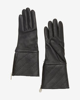 Agnelle Shearling Lamb Lined Leather Gloves