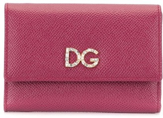 Dolce & Gabbana logo flap wallet