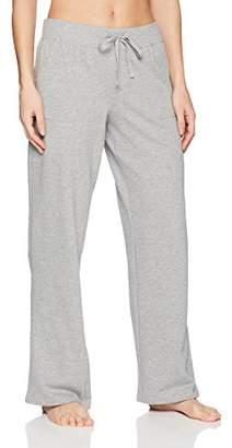 Mae Amazon Brand Women's Loungewear Open Leg Pajama Pant