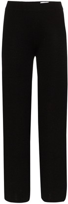 Carcel Milano wide-leg knit trousers