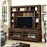 Loon Peak Albertina Solid Wood Entertainment Center for TVs up to 55 inches Loon Peak