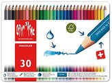 Caran d'Ache Fancolor Colored Pencil Kit (30 Colors)