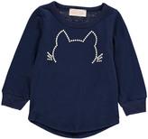 Simple Diamante Cat T-Shirt