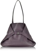 Akris Blackberry Cervocalf Ai Medium Shoulder Bag