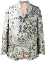 Gucci floral jacquard blazer