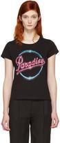 Marc Jacobs Black 'Paradise' T-Shirt