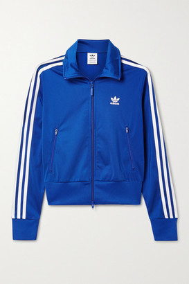 adidas Firebird Striped Tech-jersey Track Jacket - Royal blue