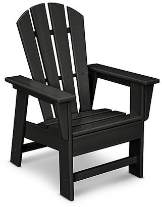 One Kings Lane Kids' Adirondack Chair - Black
