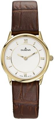 Dugena Women's Quartz Watch Basic 4460438 with Leather Strap