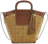 Patricia Nash Distressed Wicker Vilani Tote