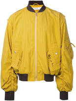 Damir Doma striped bomber jacket - men - Cotton/Polyamide - M