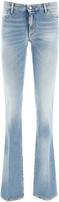 DSQUARED2 medium waist flare jeans
