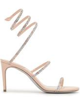 Rene Caovilla crystal embellished 85mm sandals