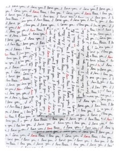 ED Ellen Degeneres I Love Paris Percale Full Sheet Set Bedding