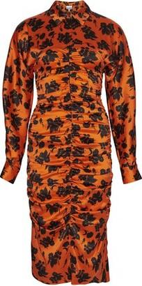 Ganni Silk strech dress