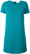 Gianluca Capannolo plain shift dress - women - Nylon/Acetate/Viscose - 38