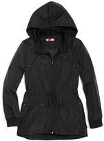 Aqua Girls' Tiered Rain Jacket, Big Kid - 100% Exclusive