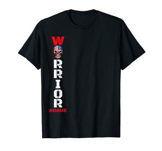 Inspirational Power Word T Shirt For Men Women Rogue Patriot Cool Military Style Armed Forces Bad Boy Army T-Shirt