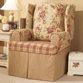 Sure Fit Lexington Floral T-Cushion Wing Chair Slipcover