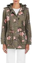 Members Only WOMEN'S FLORAL COTTON HOODED JACKET
