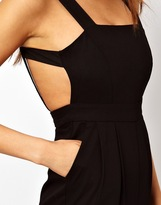 Asos Exclusive Jumpsuit With Strappy Back